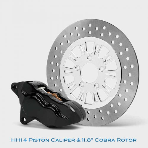 4 Piston Caliper & Rotor kit