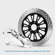 Floating Rotor and 6 Piston Caliper kit